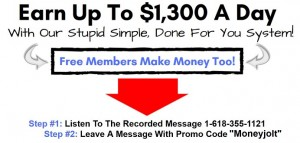 Earn Up To $1300 Per Day